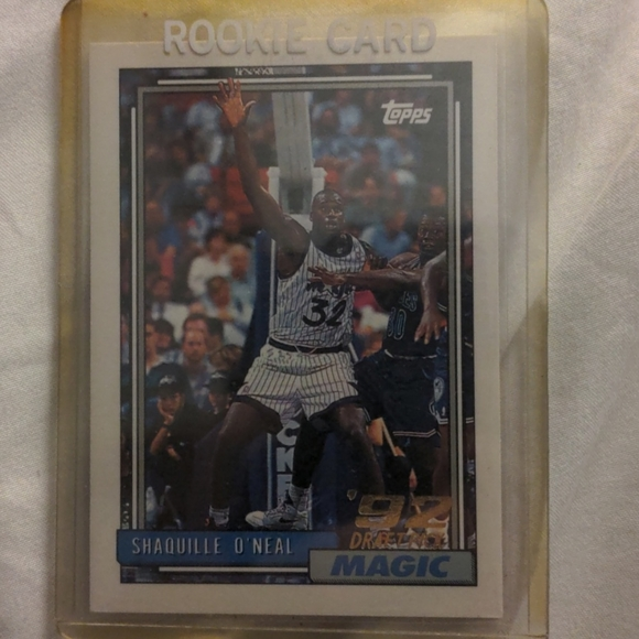 Shaq 1992 Topps Rookie Card